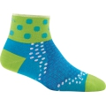 Teal - Darn Tough - Women's Dot 1/4 Ultra-Light