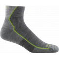 Gray - Darn Tough - Men's Hiker 1/4 Midweight with Cushion