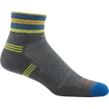 Gray - Darn Tough - Men's Vertex 1/4 UL Cushion