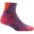 Plum Heather - Darn Tough - Women's Hiker 1/4 Sock Cushion