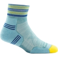 Light Blue - Darn Tough - Women's Vertex 1/4 UL Cushion