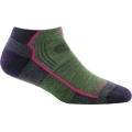 Moss Heather - Darn Tough - Women's Hiker No Show Lightweight with Cushion