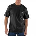 Black - Carhartt - Men's Workwear Pkt SS TShrt MW Jersey Org Fit