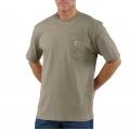 Desert - Carhartt - Men's Workwear Pkt SS TShrt MW Jersey Org Fit
