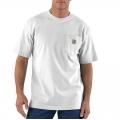 White - Carhartt - Men's Workwear Pkt SS TShrt MW Jersey Org Fit
