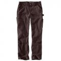 Dark Brown - Carhartt - W Original Fit Crawford Double-Front Pant