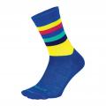 "DeFeet Blue/Neon Yellow - DeFeet - Aireator 6"" Maverick"