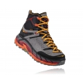 Black / Flame - HOKA ONE ONE - Men's Tor Ultra Hi WP