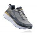 Cool Gray / Midnight Navy - HOKA ONE ONE - Men's Bondi 5 Wide