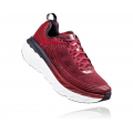 Rio Red / Obsidian - HOKA ONE ONE - Men's Bondi 6
