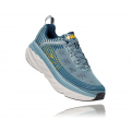 Lead / Majolica Blue - HOKA ONE ONE - Men's Bondi 6