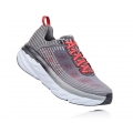 Alloy / Steel Gray - HOKA ONE ONE - Men's Bondi 6