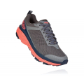 Charcoal Gray / Fusion Coral - HOKA ONE ONE - Women's Challenger Atr 5