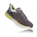 Charcoal Gray / Lime Sherbet - HOKA ONE ONE - Men's Arahi 3