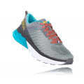 Frost Gray / Scuba Blue - HOKA ONE ONE - Women's Arahi 3