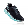 Black / Aqua Sky - HOKA ONE ONE - Women's Clifton 6