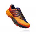 Gold Fusion / Black Iris - HOKA ONE ONE - Men's Speedgoat 4