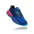 Dazzling Blue / Phlox Pink - HOKA ONE ONE - Women's Speedgoat 4