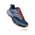 Majolica Blue / Heather - HOKA ONE ONE - Women's Speedgoat 4