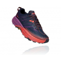 Outer Space / Hot Coral - HOKA ONE ONE - Women's Speedgoat 4