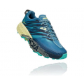 Provincial Blue / Luminary Green - HOKA ONE ONE - Women's Speedgoat 4