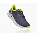 Odyssey Grey / Evening Primrose - HOKA ONE ONE - Men's Clifton 7