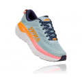 Blue Haze / Black Iris - HOKA ONE ONE - Women's Bondi 7 Wide
