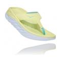 Luminary Green / Blue Tint - HOKA ONE ONE - Women's Ora Recovery Flip