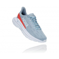 Blue Fog / Hot Coral - HOKA ONE ONE - Women's Mach 4