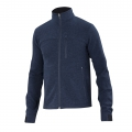 Midnight Heather - Ibex - Men's Scout Jura Full Zip