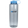 Gray with Blue - Nalgene - 48oz Wide Mouth HDPE