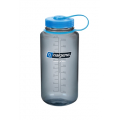 Gray, Blue Loop-Top Closure - Nalgene - 32 oz Wide Mouth