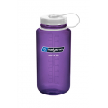 Just Purple  w/ White Loop-Top Closure - Nalgene - 32 oz Wide Mouth