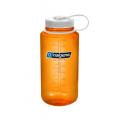 Orange  w/White Loop-Top Closure - Nalgene - 32 oz Wide Mouth