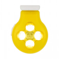 Vibrant Yellow/White - Nathan - HyperBrite Orb Strobe