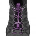 Purple Magic - Nathan - Reflective Run Laces