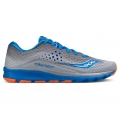 Grey/Blue/Orange - Saucony - Men's Kinvara 8