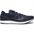 Navy/Denim/Copper - Saucony - Men's Freedom ISO