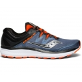 Grey | Black | Orange - Saucony - Men's Guide ISO