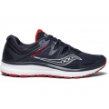 Navy/Red - Saucony - Men's Guide ISO