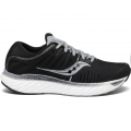 Black/White - Saucony - Women's Hurricane 22