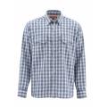 Oxford Blue Plaid - Simms - Big Sky LS Shirt