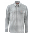 Pewter Plaid - Simms - Big Sky LS Shirt