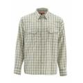Dark Khaki Plaid - Simms - Big Sky LS Shirt