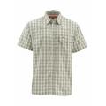 Dark Khaki Plaid - Simms - Big Sky SS Shirt