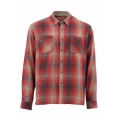 Garnet Plaid - Simms - Black's Ford LS Flannel Shirt
