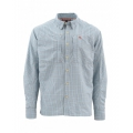 Oxford Blue Plaid - Simms - BugStopper LS Shirt