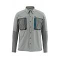 Smoke - Simms - Taimen TriComp LS Shirt
