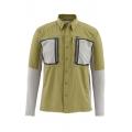 Army Green - Simms - Taimen TriComp LS Shirt