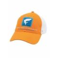 Burnt Orange - Simms - Tarpon Trucker Cap